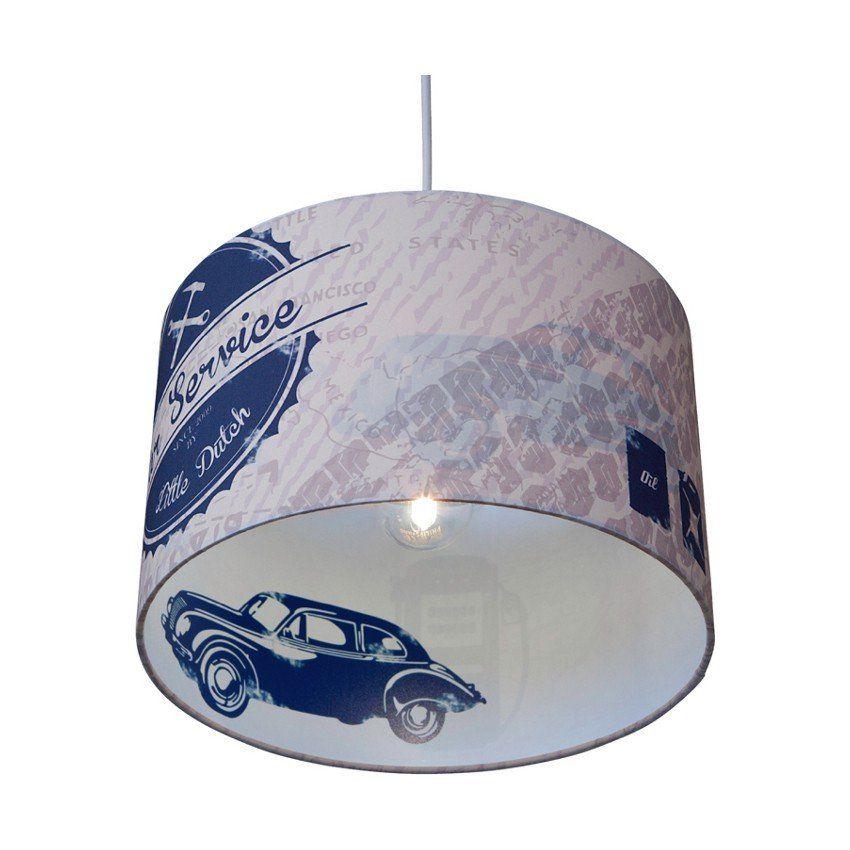 Little Dutch Hanglamp Silhouette Auto Blauw