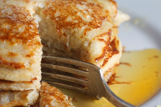 whole-wheat-and-oat-pancakes-2 by sophistimom. What a great blog she has!