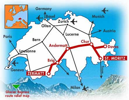 The glacier express switzerland route google search the glacier express switzerland route google search gumiabroncs Gallery