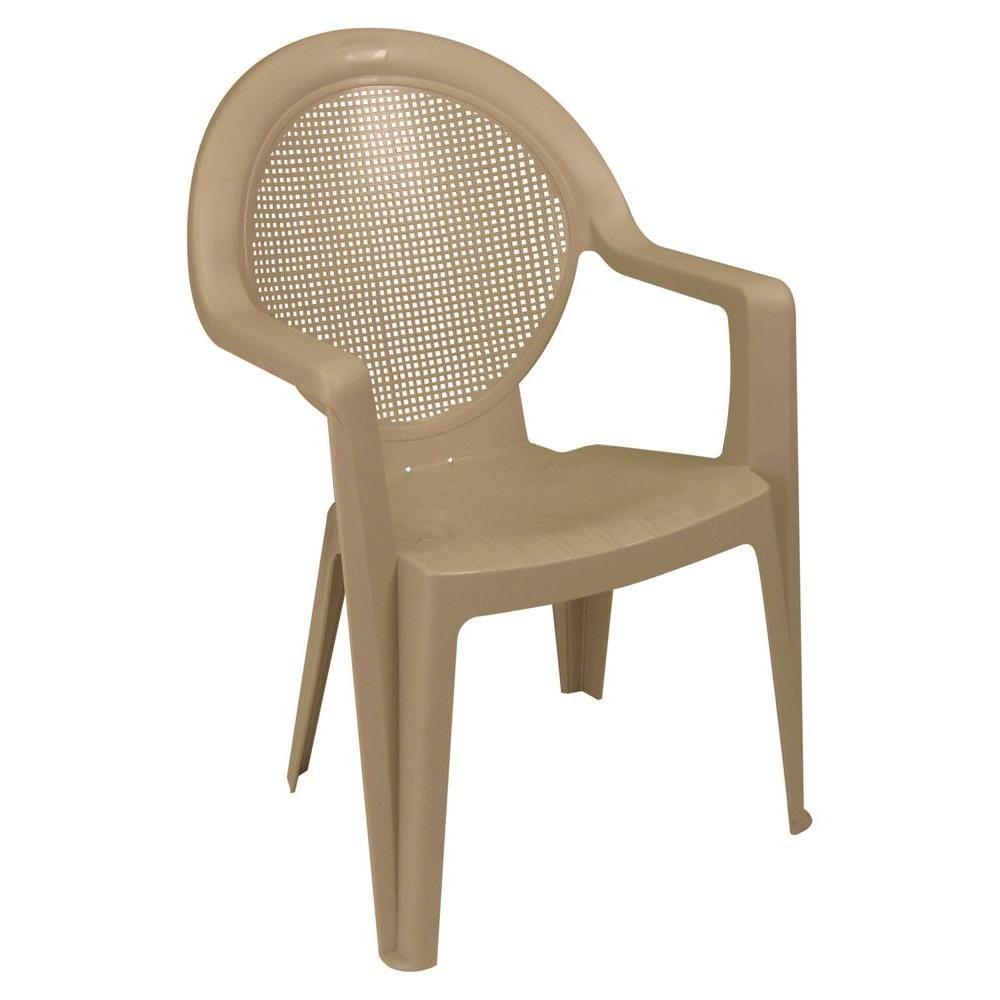 Madras High Back Patio Club Chair