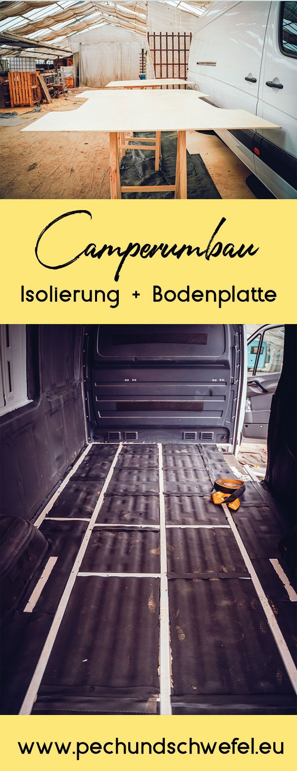 Photo of Camper conversion part 3: insulation and base plate – via Alubutyl and Armaflex and the right choice of wood – pitch & sulfur