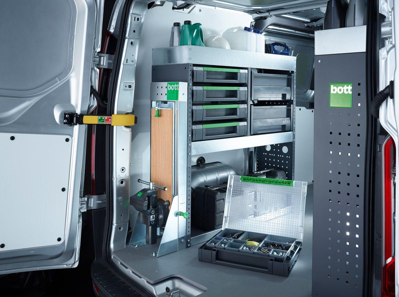 Bott van storage best storage design 2017 for Innovative hvac systems