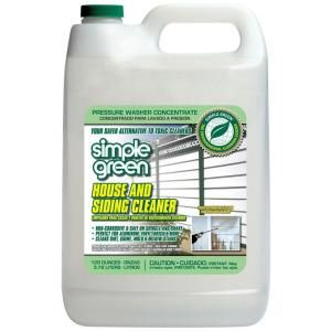 Simple Green 128 Oz House And Siding Cleaner Pressure Washer Concentrate 2300000118201 The Home Depot Simple Green Green House Siding Pressure Washer