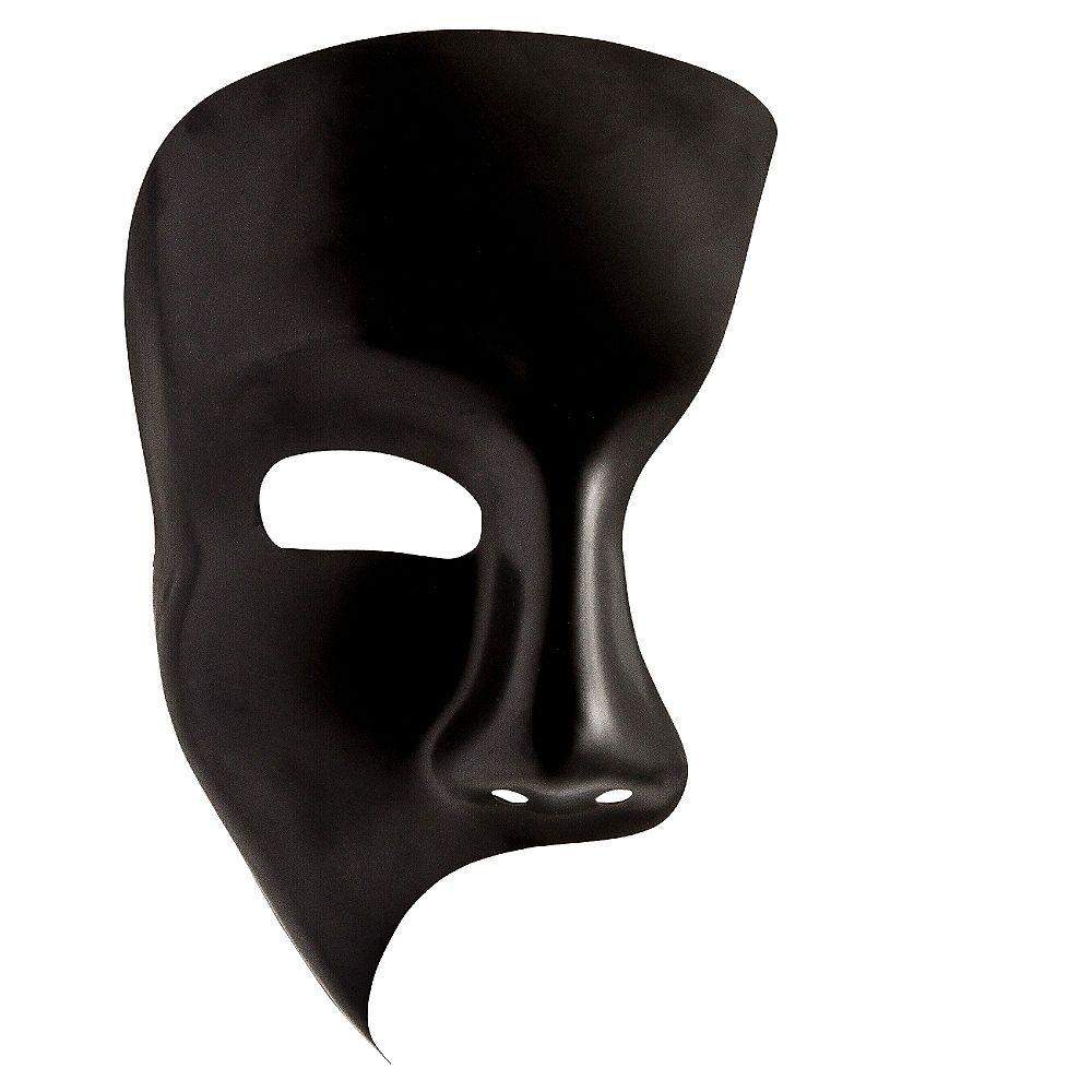 Black Phantom Mask 4 1 2in X 8 1 2in Phantom Mask Mask Images Joker Mask