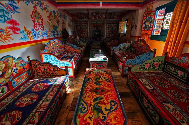 Tibetan Interior Design With Images Tibetan Ancient Chinese