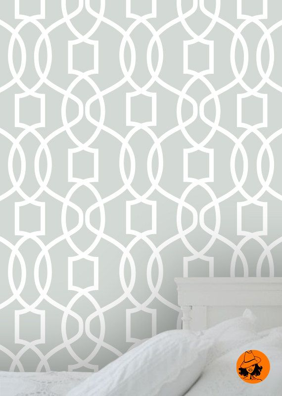 Self Adhesive Wallpaper Removable Temporary L And Stick Geometric Print A047