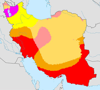 Climate Map Of Iran KöppenGeiger Iran Persian ایران - Us koppen climate map