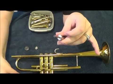 How To Clean A Trumpet The Cleaning And Maintenance Tips In This Video Can Be Applied To Most Brass Instrume Trumpet Mouthpiece Trumpet Music Brass Instrument