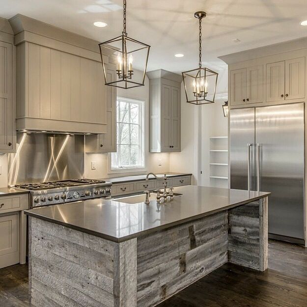 24 Kitchen Island Designs Decorating Ideas: Reclaimed Wood Island Real Houses Of Instagram