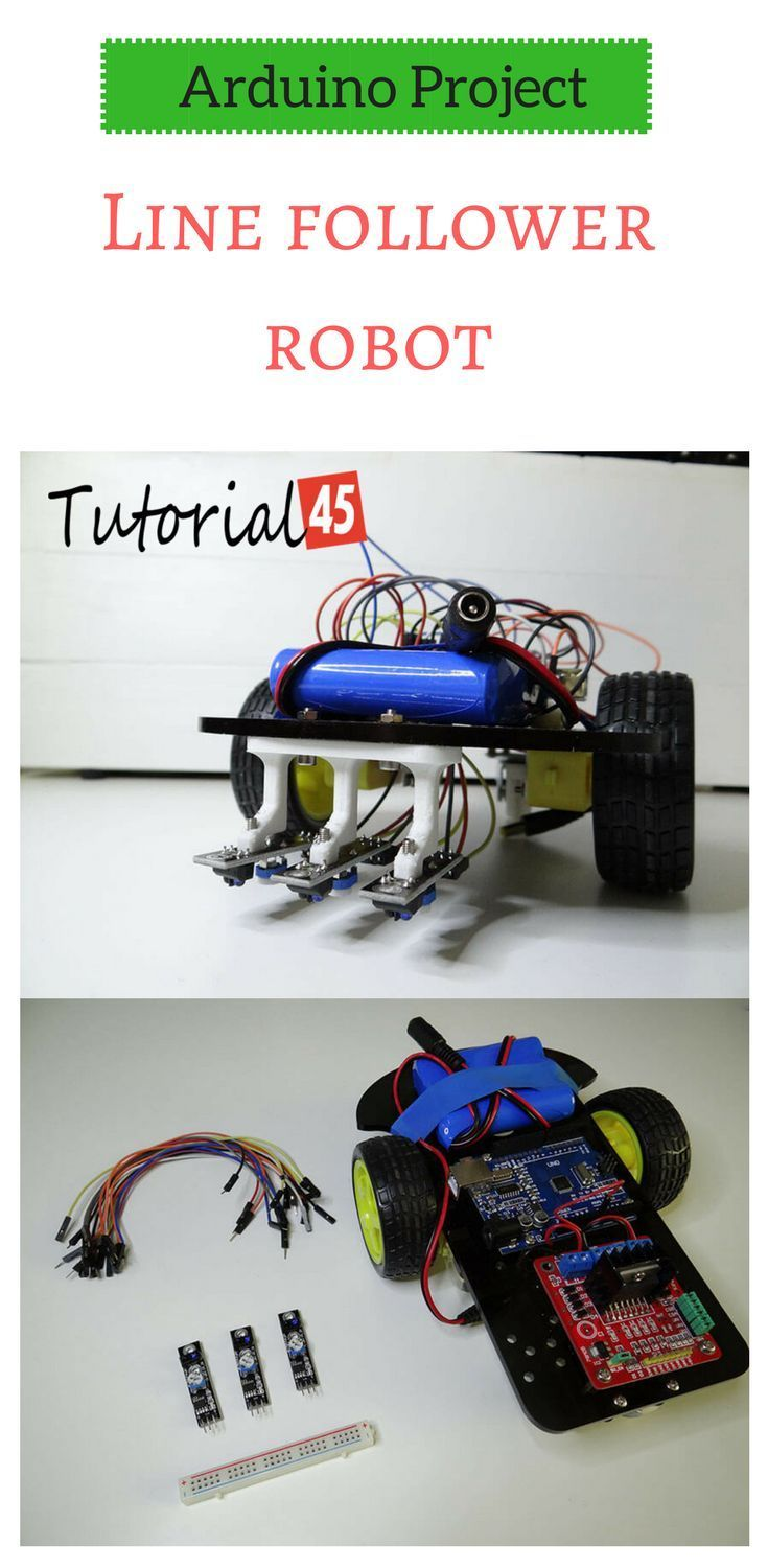 Arduino Projects Line Follower Robot In 2018 Pinterest Following Without Microcontroller
