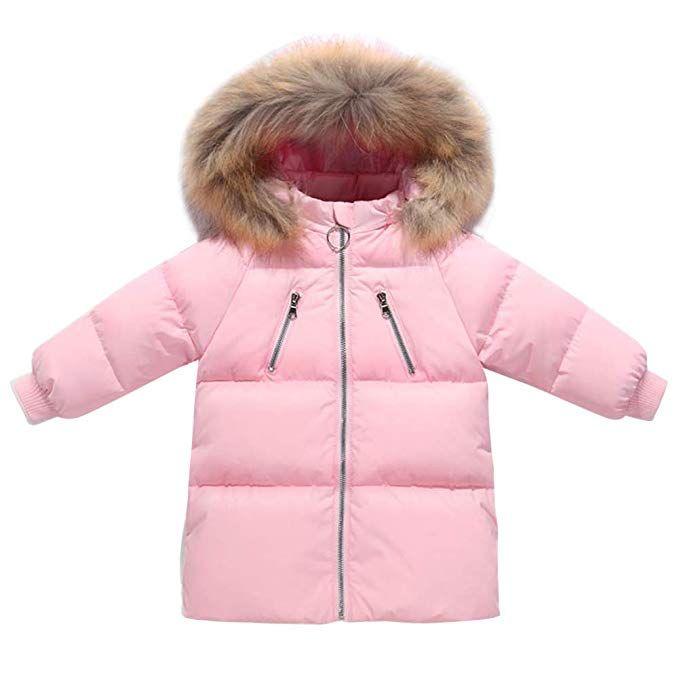 b28dbf79c Happy Cherry Girls Down Outerwear Comfortable Soft Warm Winter ...