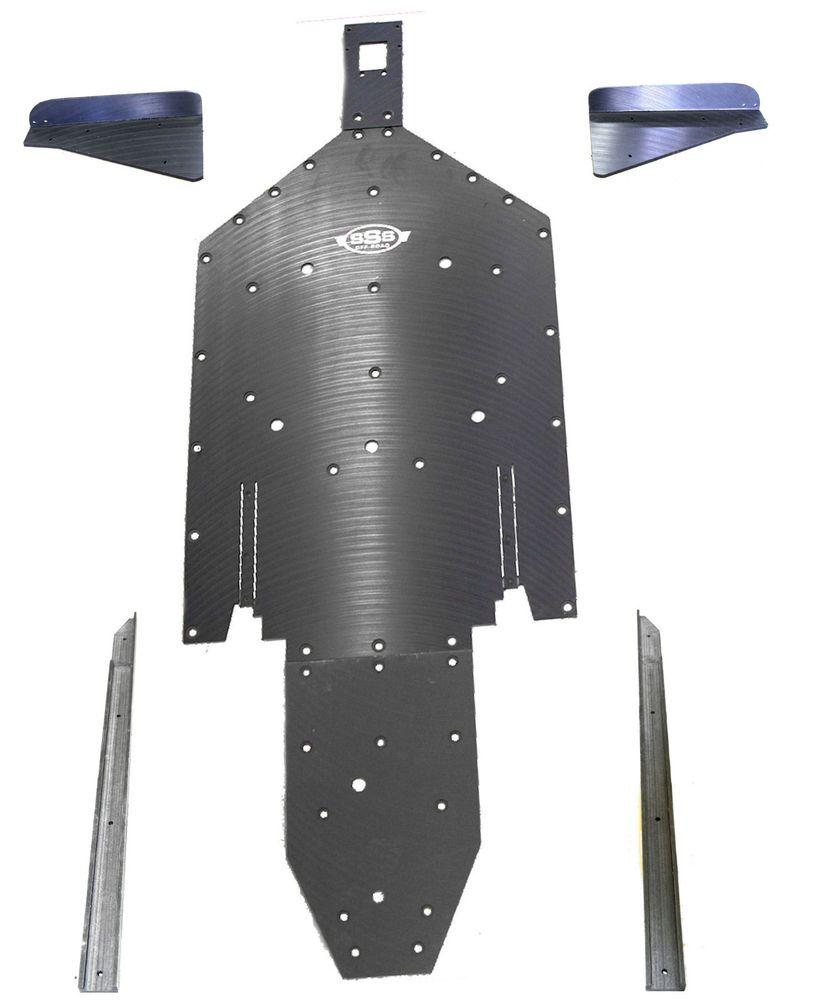 Polaris RZR XP 1000-4 A Arms Trailing guards UHMW skid plate SSS Off Road FULL  #POLARISRZR100042015MODEL