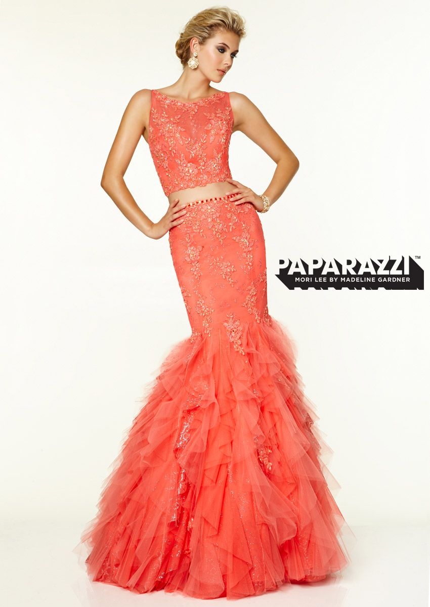 New for prom paparazzi gown from mori lee by madeline gardner