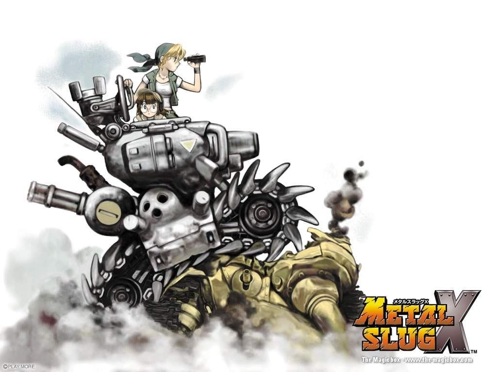 Metal Slug X Wallpaper 1024x768 Arte De Videojuegos Personajes De Videojuegos Arte Conceptual