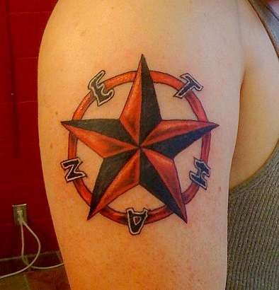 Nautical Star Tattoo Meaning | Tattoos Photo Gallery | 3d Nautical ...