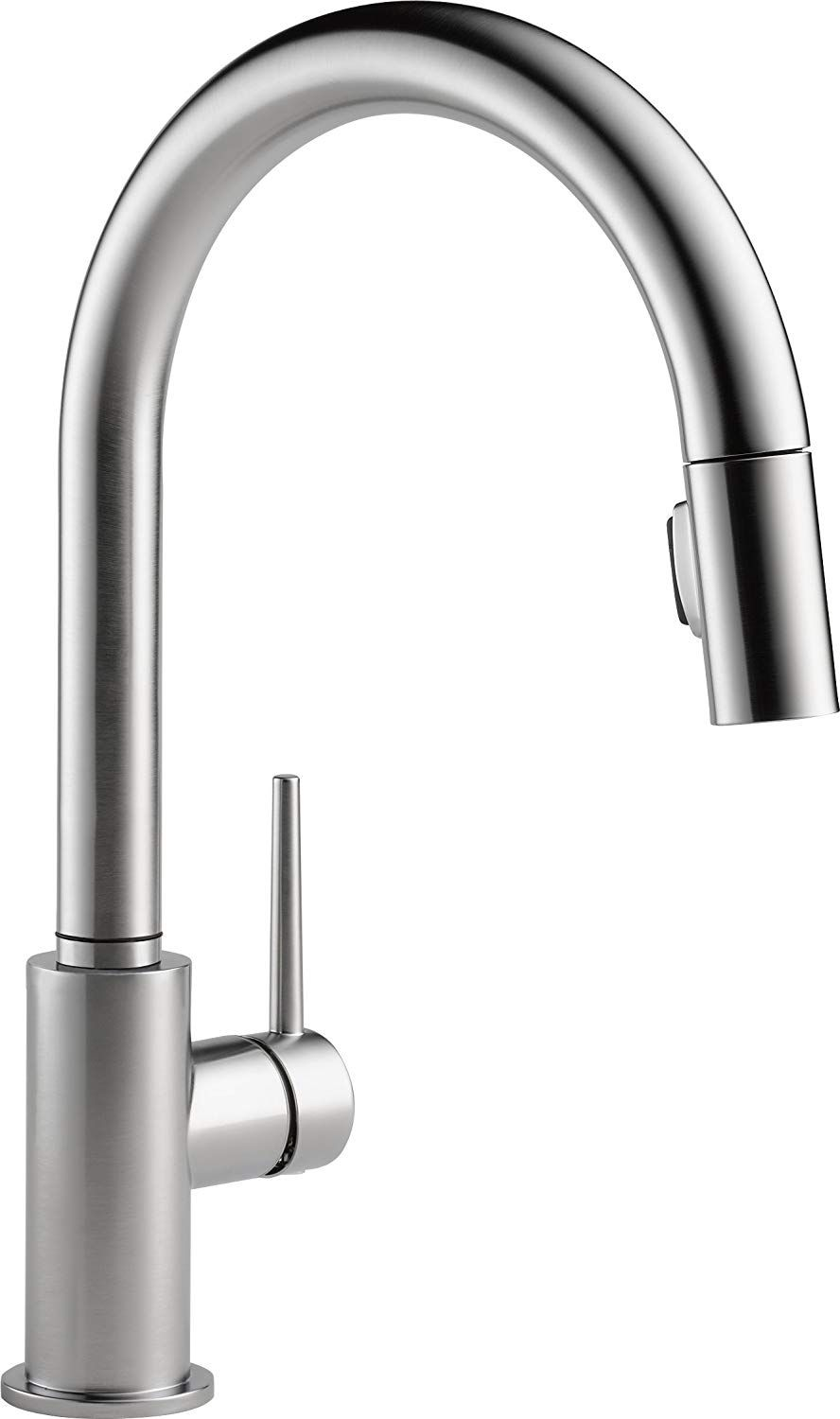 Delta Faucet Trinsic Single Handle Kitchen Sink Faucet With Pull Down Sprayer And Magnetic Dock Modern Kitchen Faucet Touch Kitchen Faucet Best Kitchen Faucets