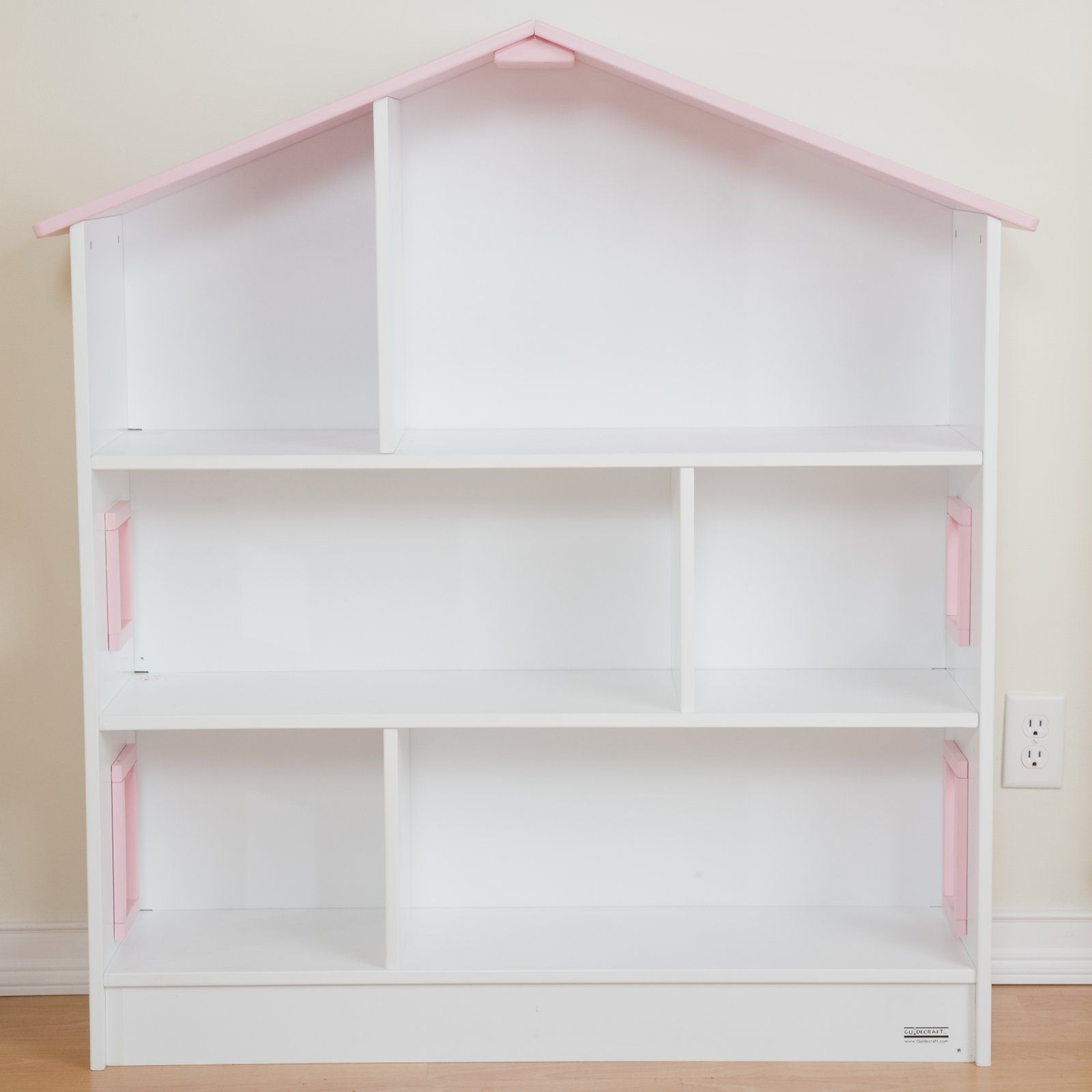 Toddler Dollhouse Guidecraft Dollhouse Wood Bookcase Toddler Furniture At