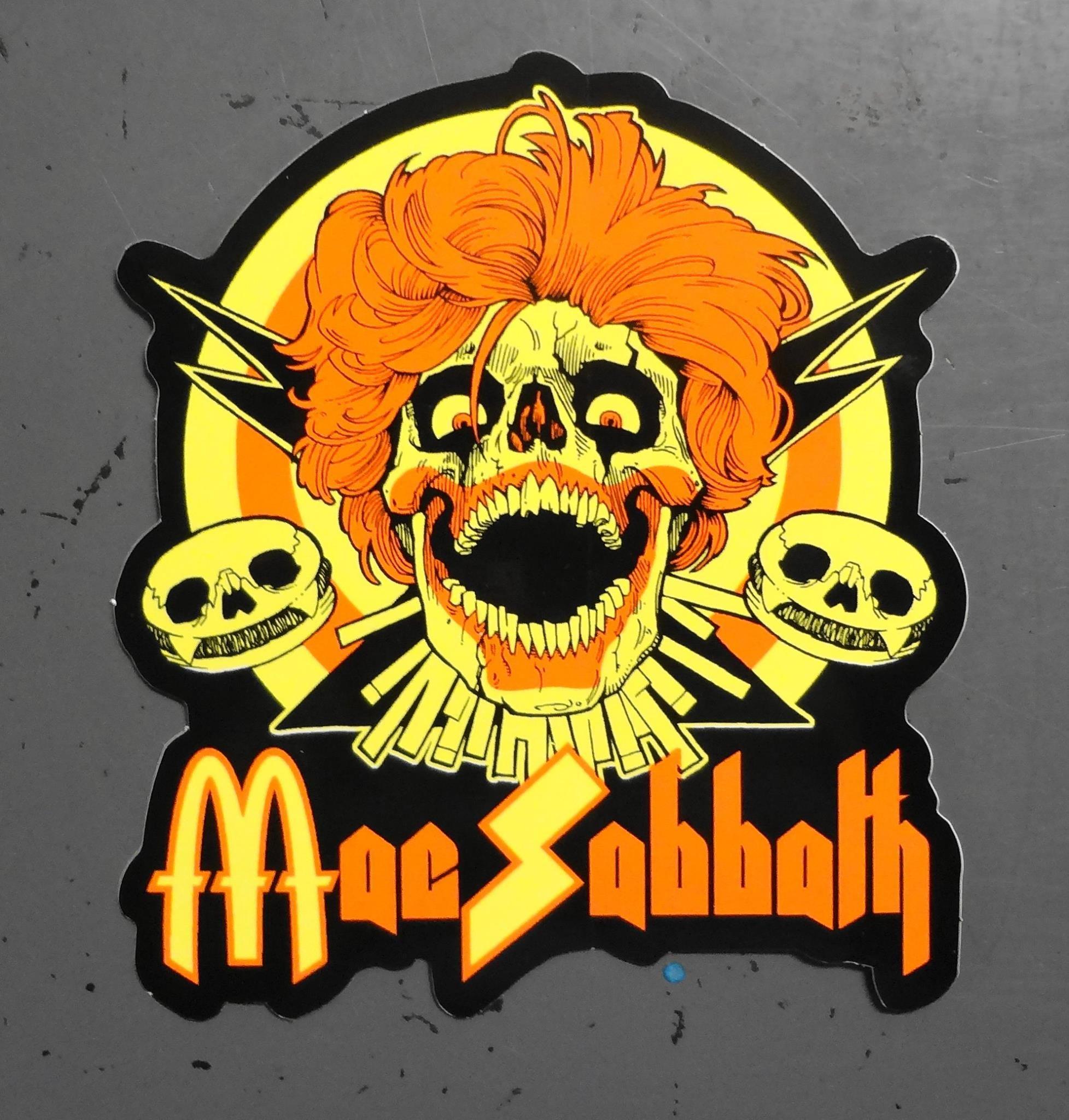 Mac Sabbath Stickers Decals Swag Pinterest Sabbath Metal - Promotional custom vinyl stickers business