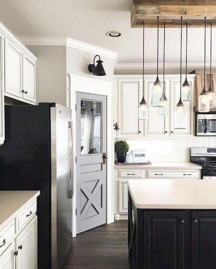 20 shabby chic farmhouse kitchen makeover ideas