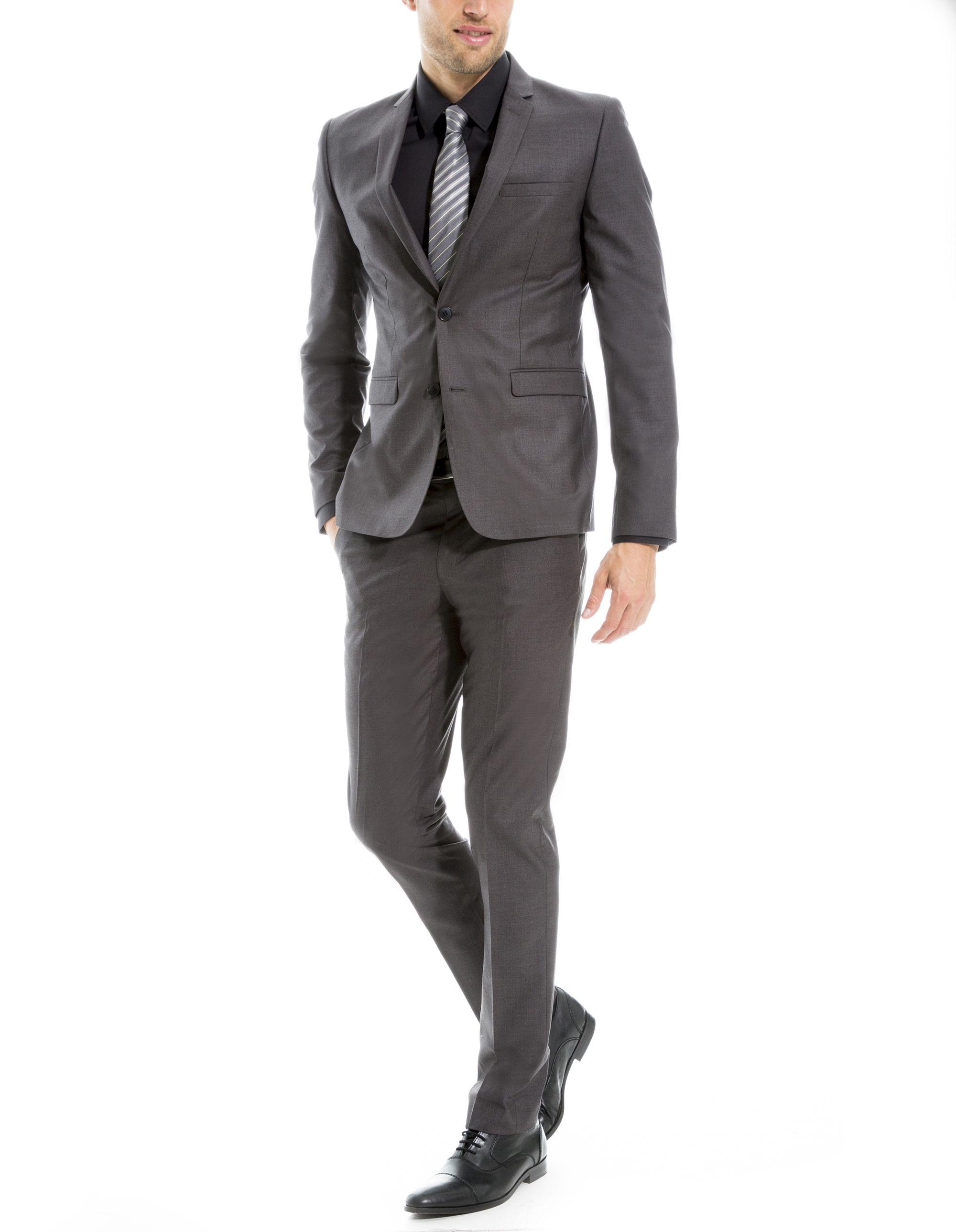 Costume gris easy slim - Costume complet Homme - Brice-FR | Dress ...