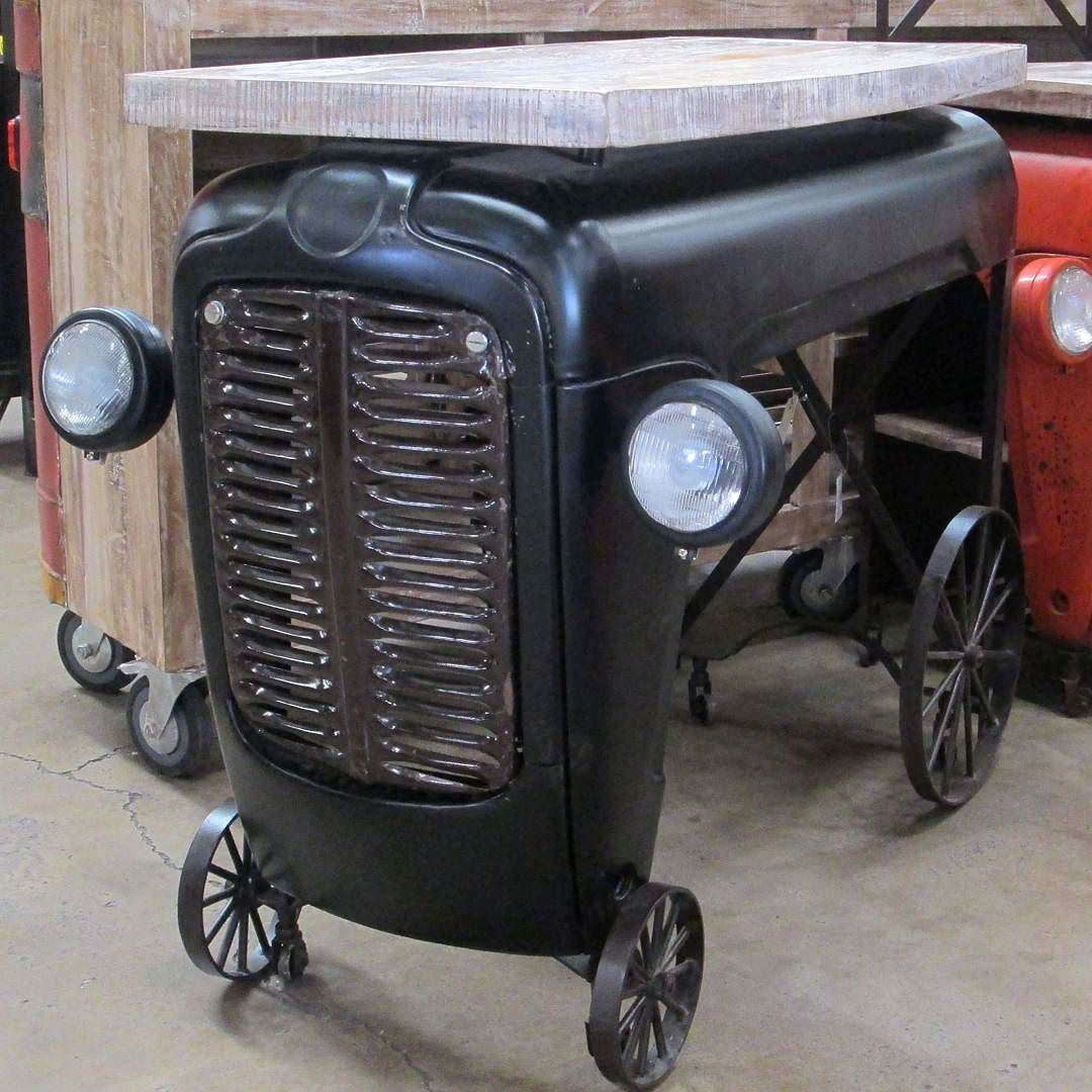more tractor grill lights! | Garage decor, Decor, Automotive