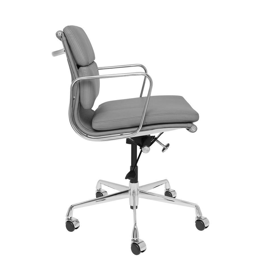 Soho premier soft pad management chair grey italian