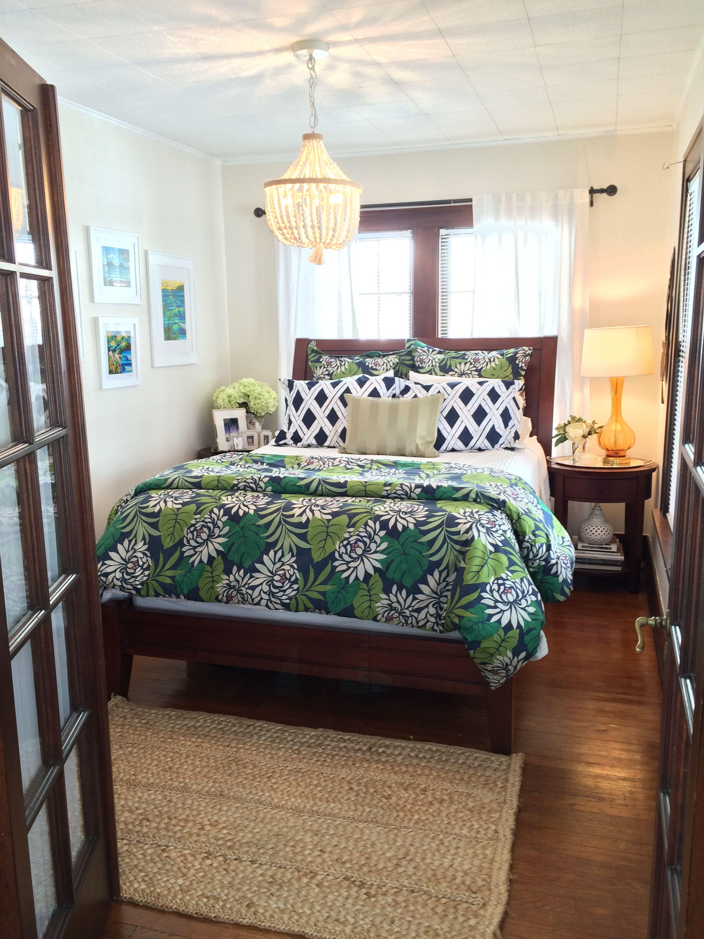 British Colonial Inspired Hawaiian Bedroom Dark Mahogany