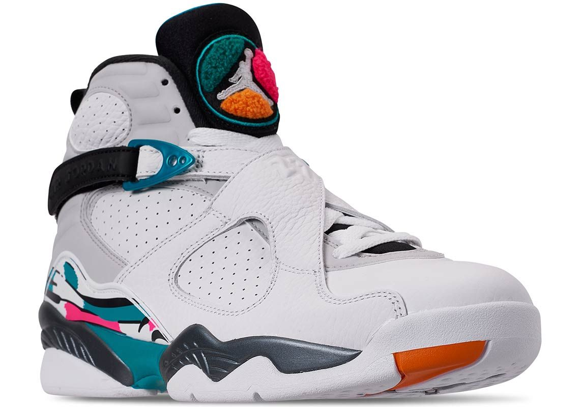 buy online c6711 f938d Air Jordan 8 South Beach