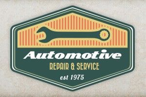 auto repair shop sign ideas