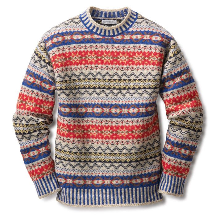 Fair Isle Gentlemen's Knitted Pullover - Manufactum | CLOTHES ...