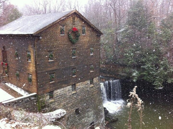 Lanterman S Mill Millcreek Park Youngstown Ohio This Was Just