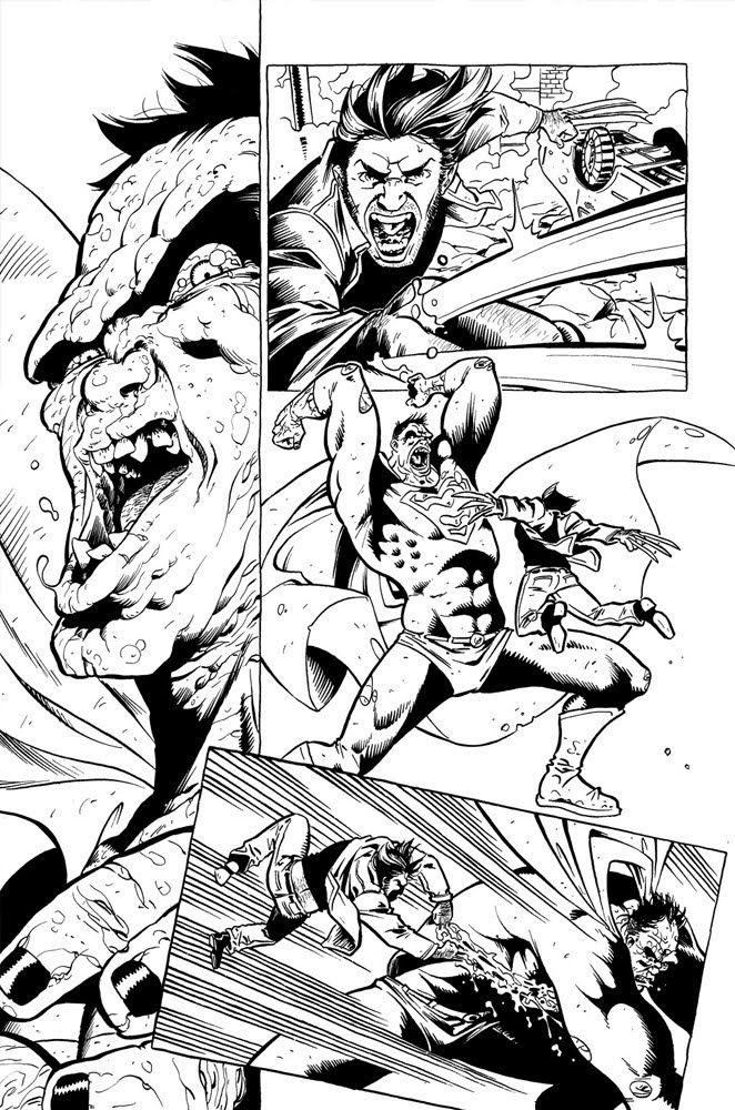 Wolverine vs Bizarro