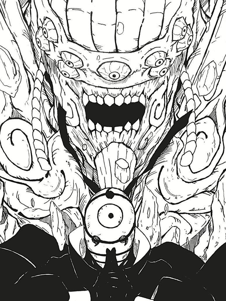 Ten Tails Revival By Keenoorate Com Imagens Desenho De Anime