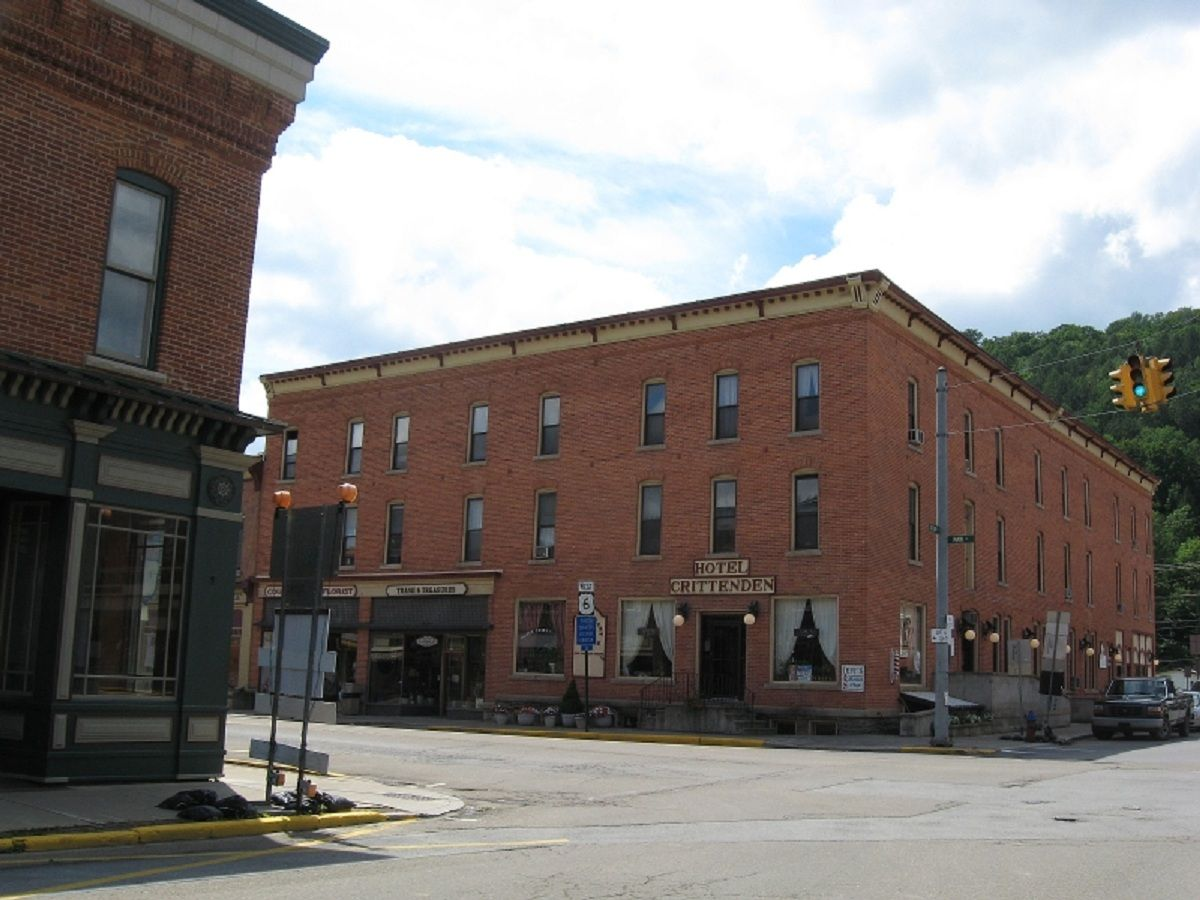 The Crittenden Hotel In Coudersport Pa Judy Bolton Fans Often Stay At This Red Victorian
