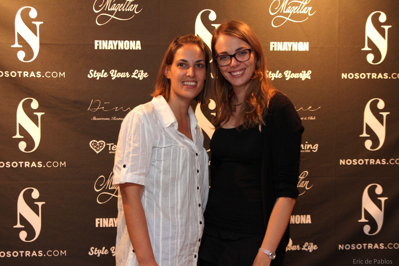 Evento ConZapatos: Xénia de Barcelonette y una amiga