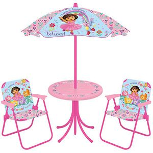 Nickelodeon - Dora the Explorer Table and Chairs Set............ MY ...