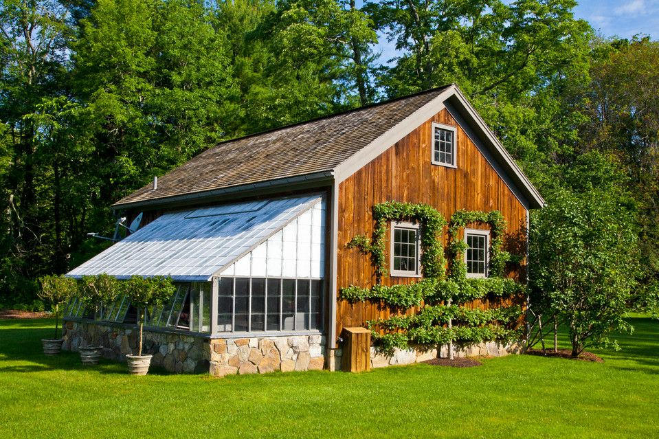 Historic Farm The Berkshires Doves And Chickens Greenhouse Attached House Barn