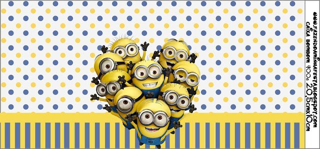 photo about You Re One in a Minion Printable named Impressed within Minions: Totally free Printable Labels. Could possibly be a lovely