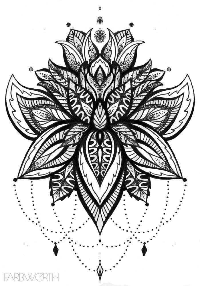 реализацию лотос цветок рисунок тату танцах балу собственном