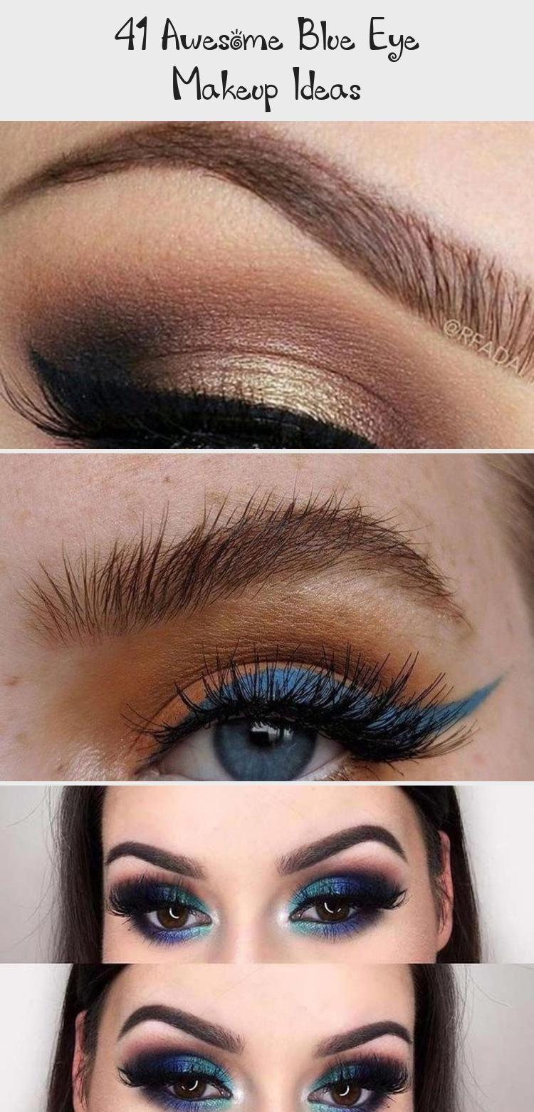 Photo of 41 Awesome Blue Eye Makeup Ideas – Eye Makeup