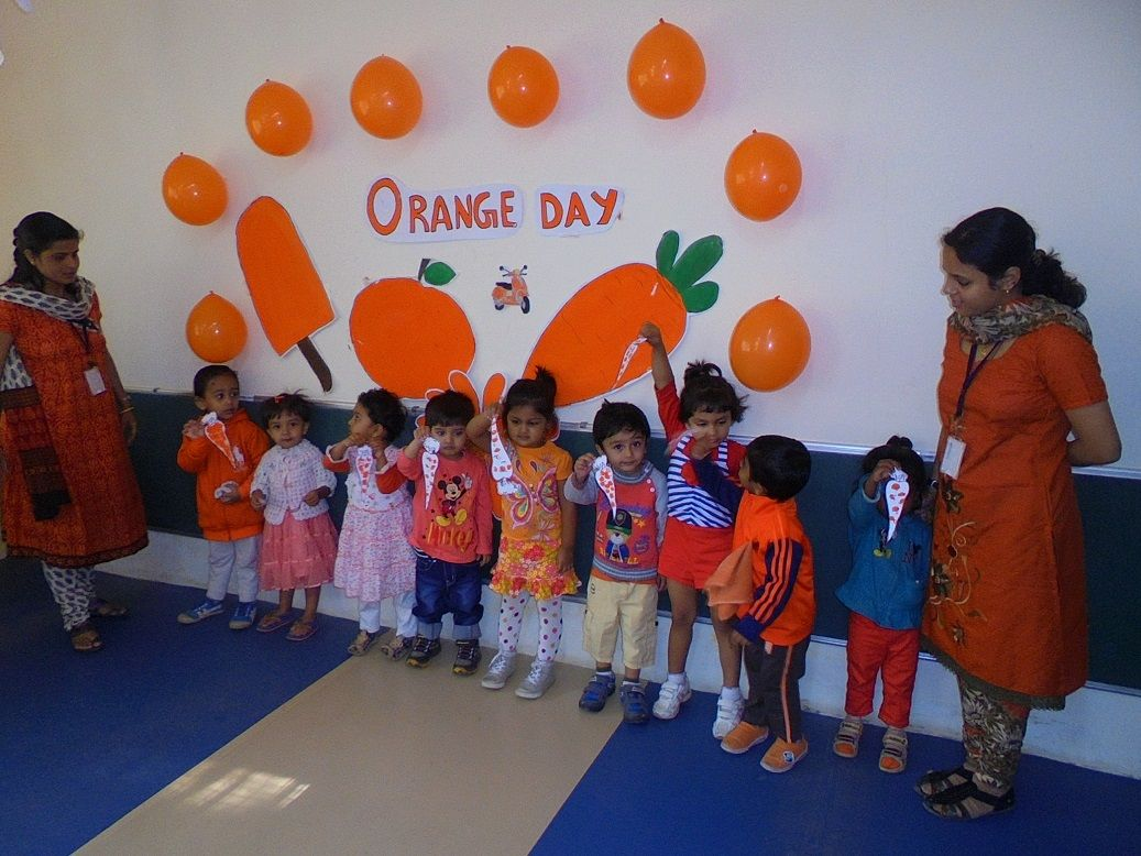 Orange Day Pre Nursery On Thursday 22nd January