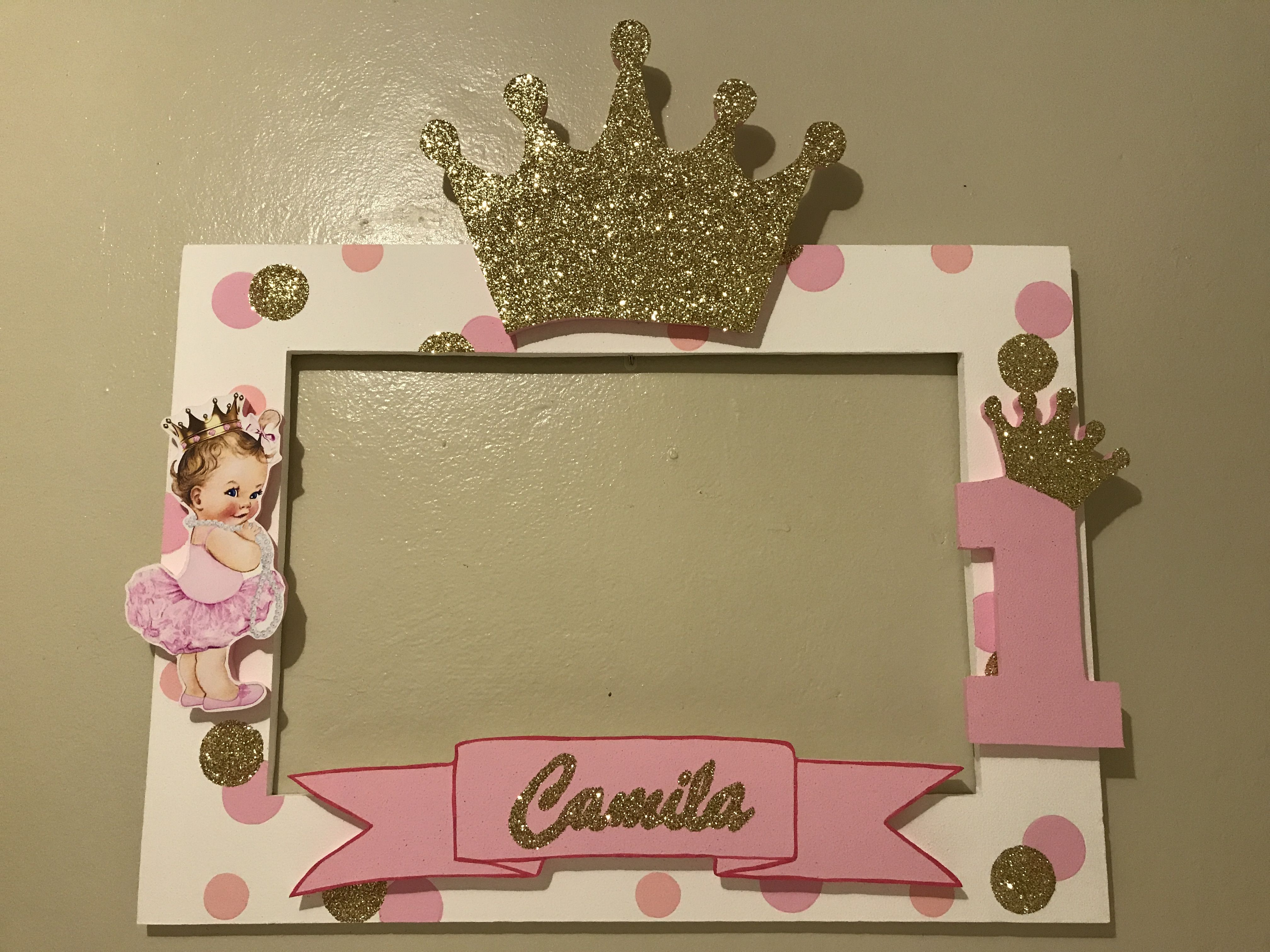 Princess crown photobooth frame | Mis 15 | Pinterest | Cumple ...