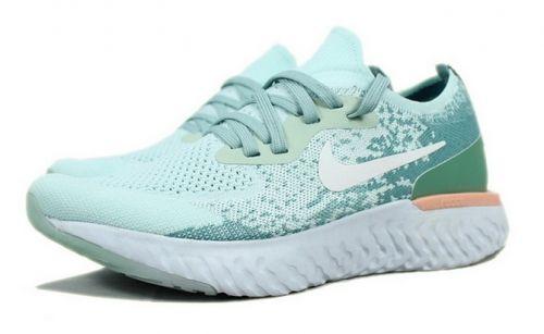 half off d0928 1fa43 Nike Epic React Flyknit Mint Green White