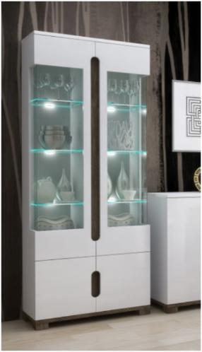 Display Cabinet 2 Gl Doors