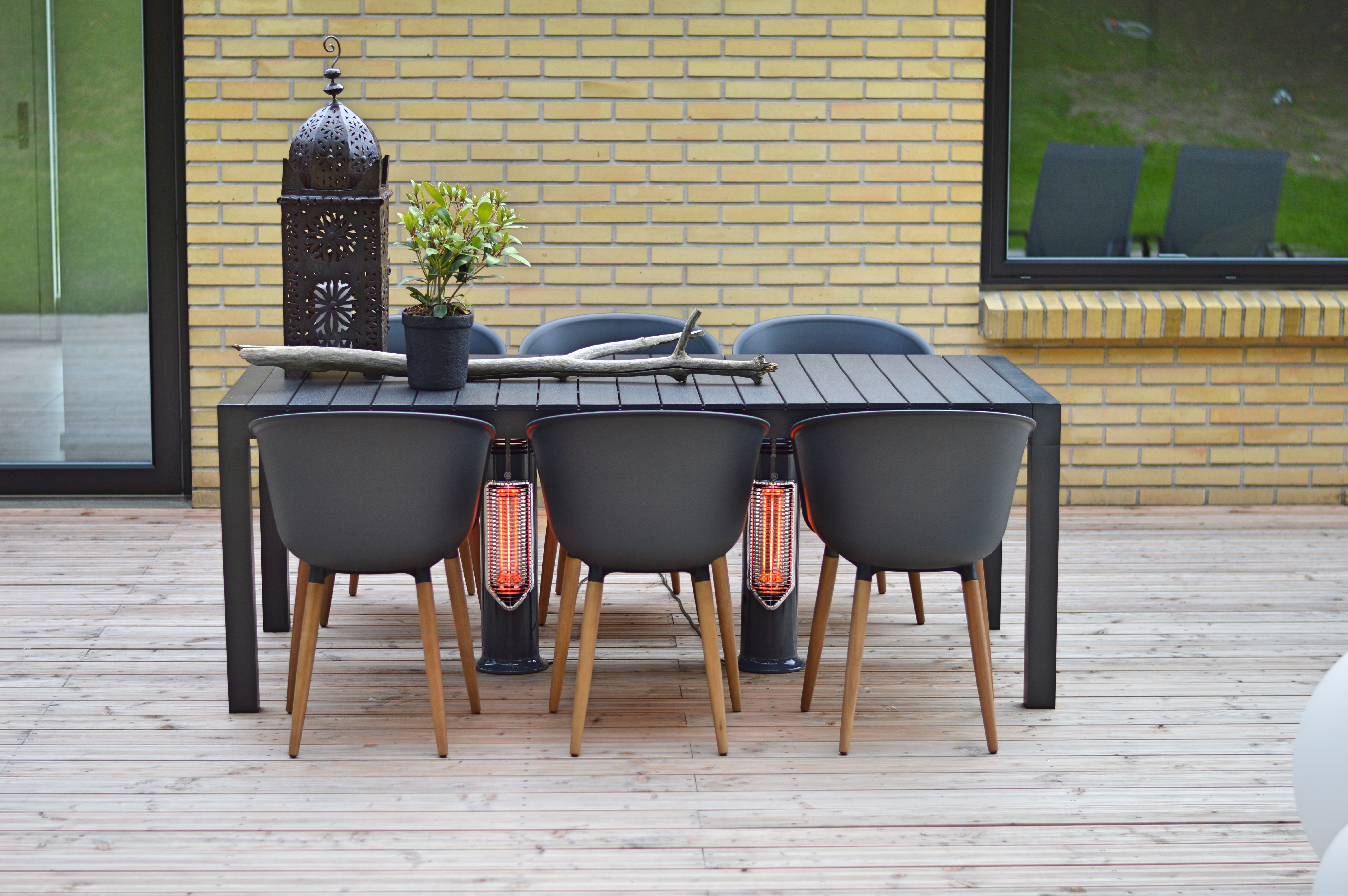 Outdoor Table Heating Safe To Touch Patio Heater Danish Design Imus Patio Heater Outdoor Heating Environmen Outdoor Heating Outdoor Heaters Patio Heater
