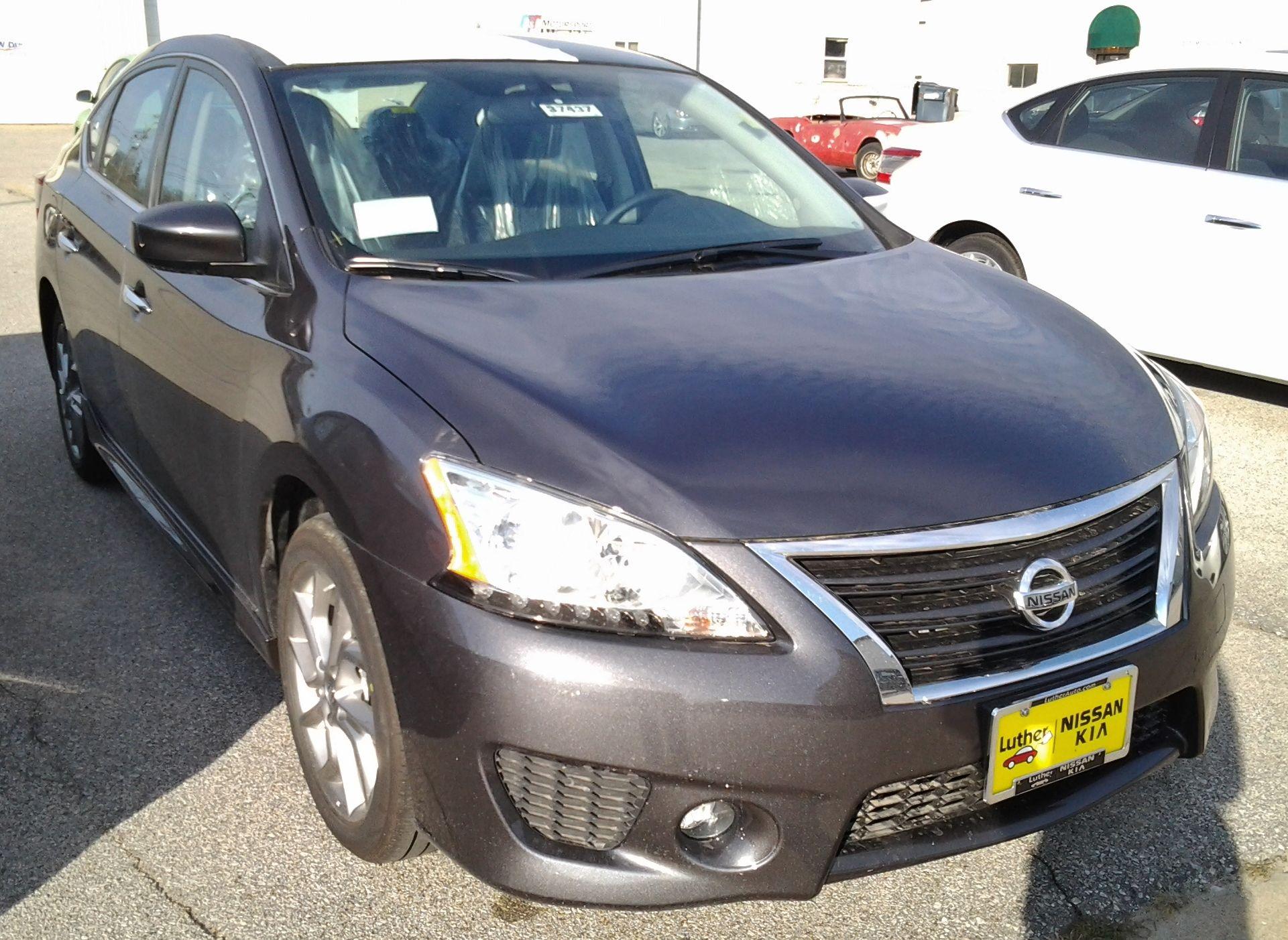 2013 Nissan Sentra SR  NS13007