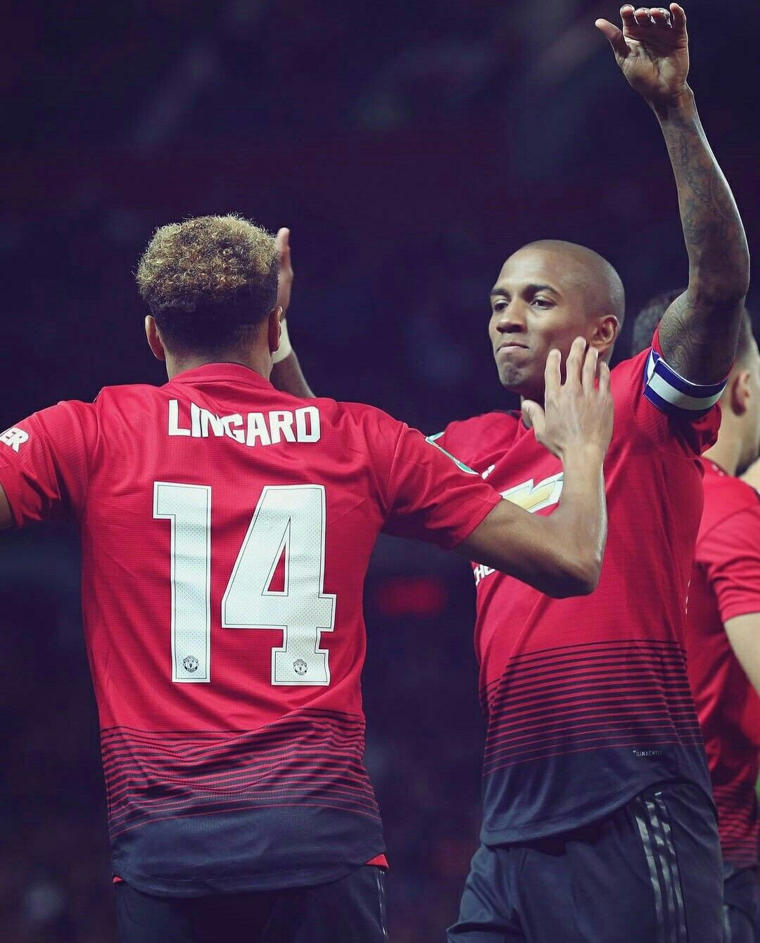Lingard And Youngy Manchester United Football Manchester United Football Club Manchester United