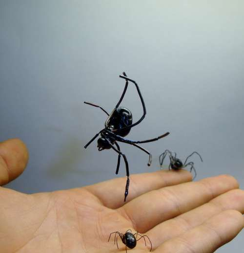 Realistic Spider (Life-Size Prop) Spider, Create and Halloween ideas - spiders for halloween decorations
