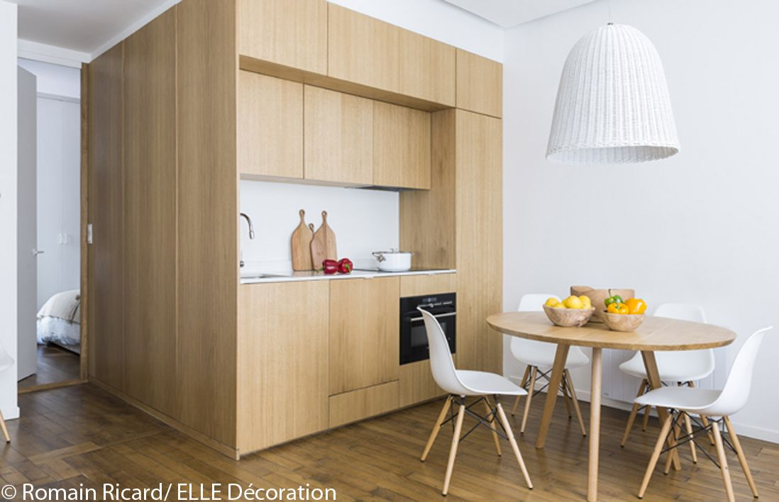 Visite en dun appartement malin de 40 m² elle décoration