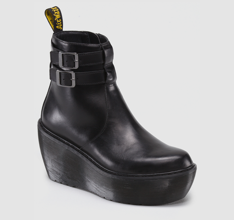 #CAITLIN Dr #Martens #platform boots in black. want want want